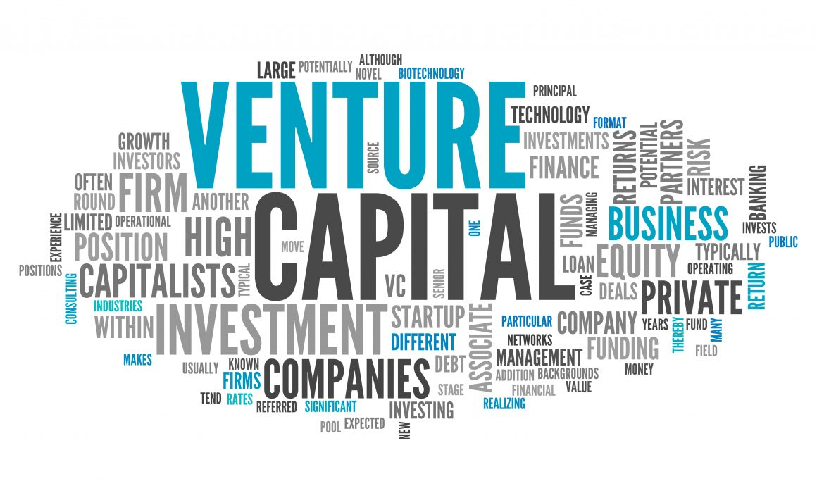 word cloud of VC related terms
